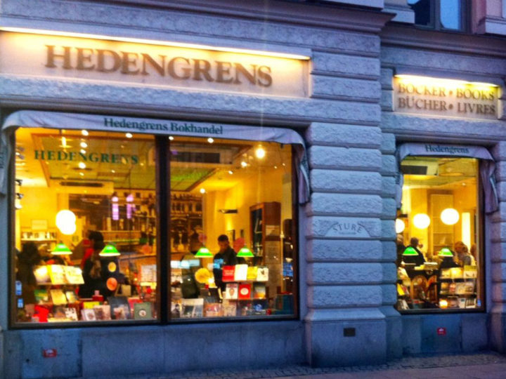 The King of Stockholm's Bookshops