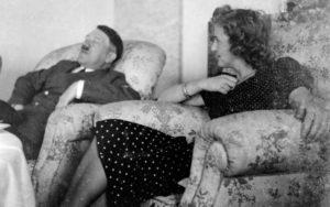 Adolf Hitler och Eva Braun.