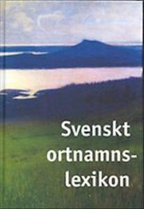 4) Svenskt ortnamnslexikon