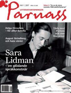 22/3 kl. 17.30 Birgitta Holm & Tidskriften Parnass (om Sara Lidman och Helga Henschen)