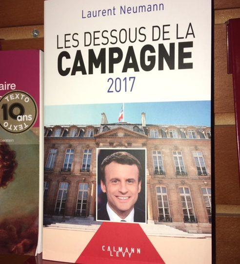 Nytt på franska avdelningen: Laurent Neumann: Les dessous del la Campagne 2017