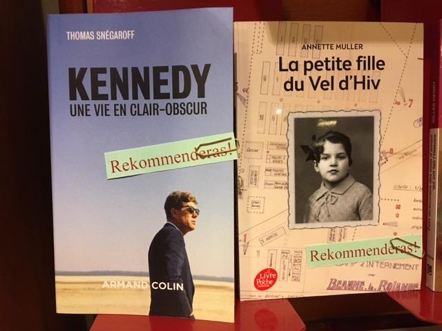 Två biografitips, från franska avdelningen