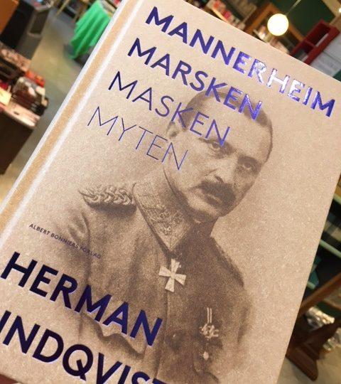 Herman Lindqvist skriver om Gustaf Mannerheim