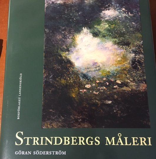 Praktverk om August Strindbergs måleri, av Göran Söderström