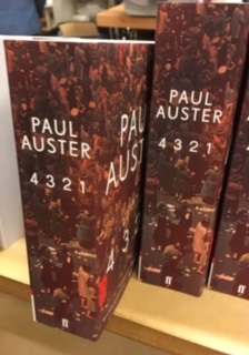 Nu finns Paul Austers nya roman 4321 i ….