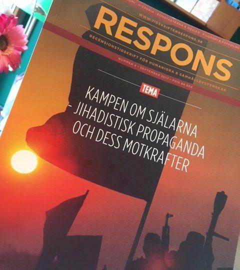 Nytt nummer av tidskriften Respons (nr 4, september 2017) ute nu