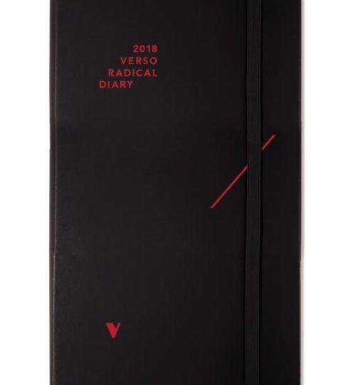 Intressant kalendernyhet hos Hedengrens: 2018 Verso radical diary and weekly planner