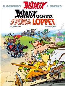 """Nya """"Asterix och det stora loppet"""" (nr. 37)  finns nu i lager, även på franska"""