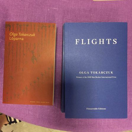 olga tokarczuk: flights