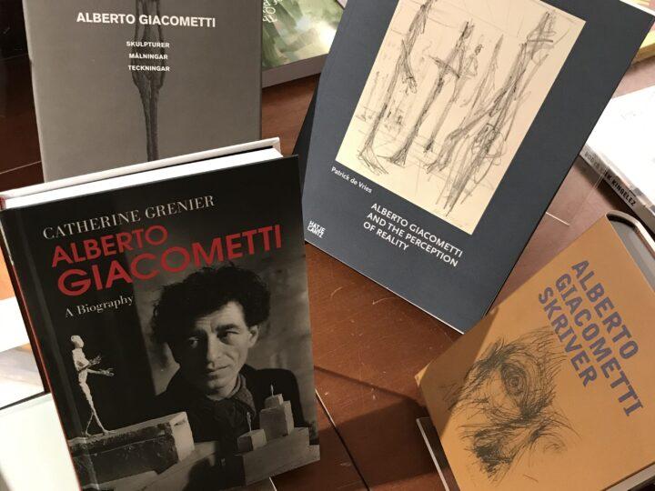 På tal om Alberto Giacometti på Moderna museet…