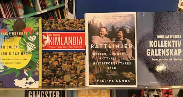 Nytt på avdelningen Historia/Samhälle