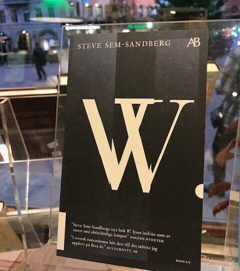 Steve Sem-Sandbergs roman W – nu i pocket