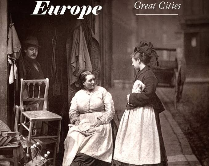 Ny titel på avd. History/Politics: The Streets of Europe. The Sights, Sounds & Smells That Shaped Its Great Cities, av Brian Ladd