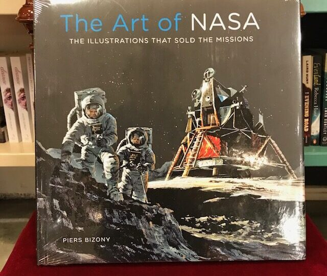 Ny titel på temat rymdfärder: The Art of NASA. The Illustrations that Sold the Mission, av Piers Bizony