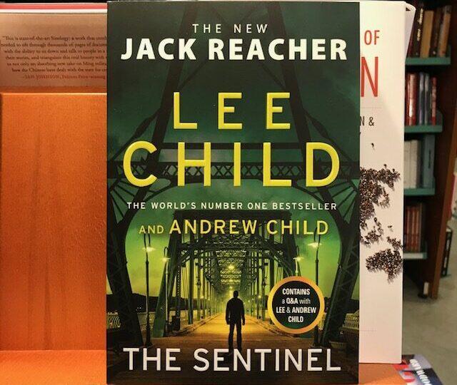Lee Childs nya thriller The Sentinel är ute nu