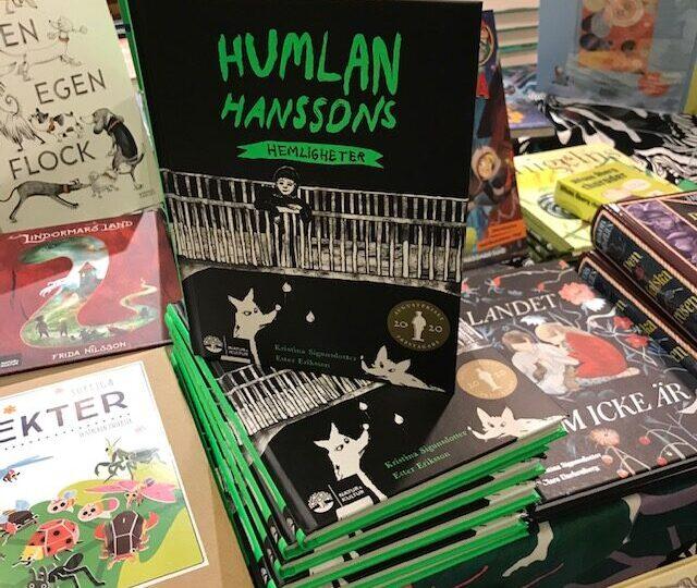 Nu har vi efterfrågade Humlan Hanssons hemligheter av Kristina Sigunsdotter i lager igen