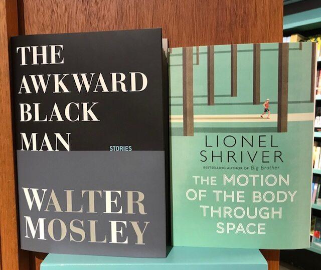 Nytt på avdelningen Fiction av författarna Walter Mosley, Lionel Shriver, Bobbie Ann Mason och Julia Clairborne Johnson