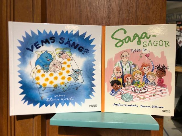 Nytt på barnboksavdelningen