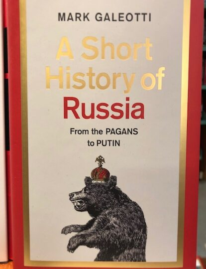 A Short History of Russia. From the Pagans to Putin, av Mark Galeotti